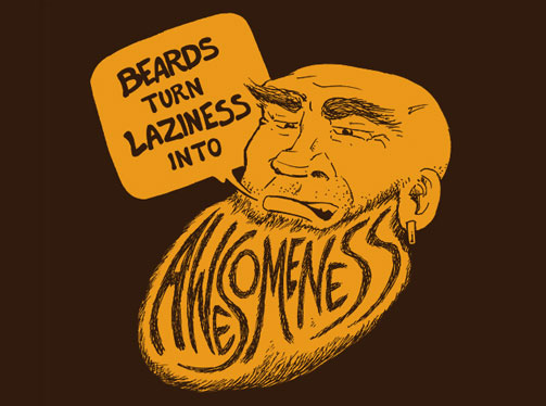 beard tee shirt