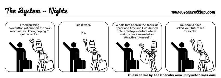 System Guest Comic Week: Lee Cherolis