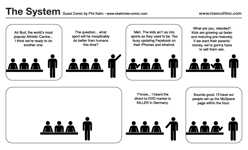 The System Guest Comic: Phil Kahn