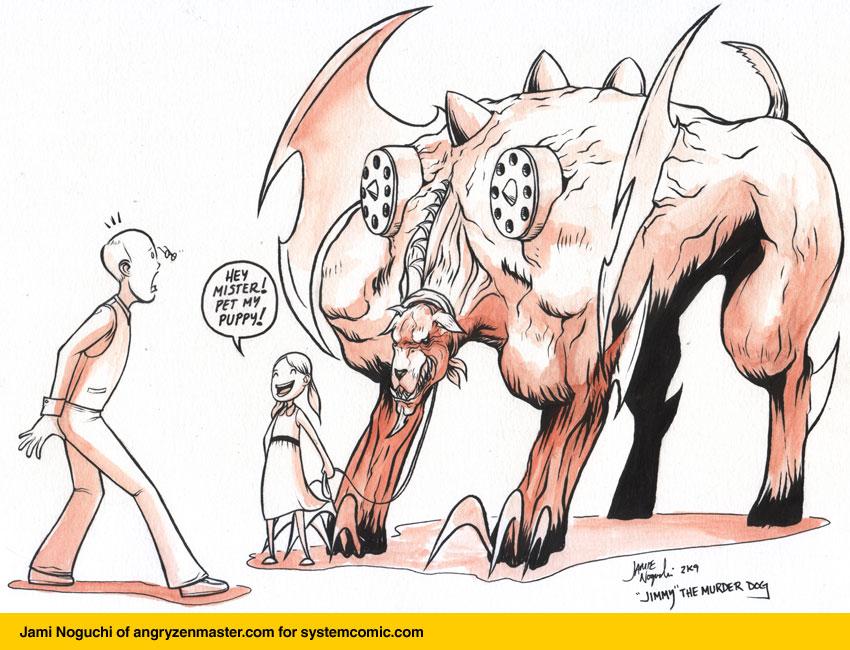 The System Guest Comic: Jami Noguchi